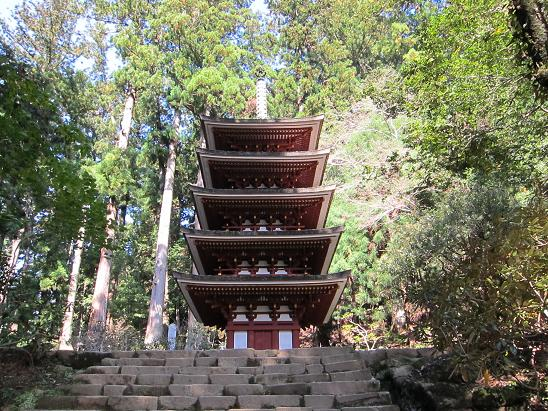 'Muro-ji' Buddhist temple in the depths of the mountain in Nara Prefecture is also known as 'Nyonin-Koya' meaning 'Mount Koya' temple for women.
