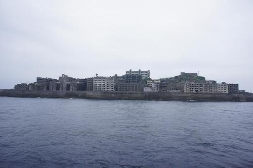 'Hashima' in Nagasaki City, also known as 'Gunkanjima', had been working as a base of a submarine coal field for long 80 years from 1891.