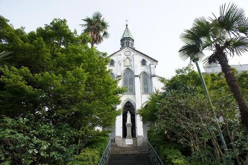 'Oura Tenshudo' church, also known as the church of the 26 Japanese Martyrs, in Nagasaki City is Japan's oldest Roman Catholic church built in 1863.