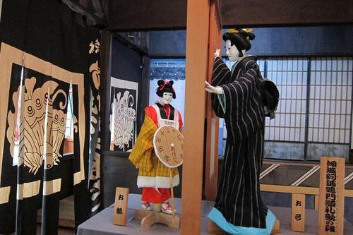'Bunraku' originally meant the name of the playhouse exclusively for Japanese puppet show 'Ningyo-joruri', however it has become a synonym for 'Ningyo-joruri' itself.