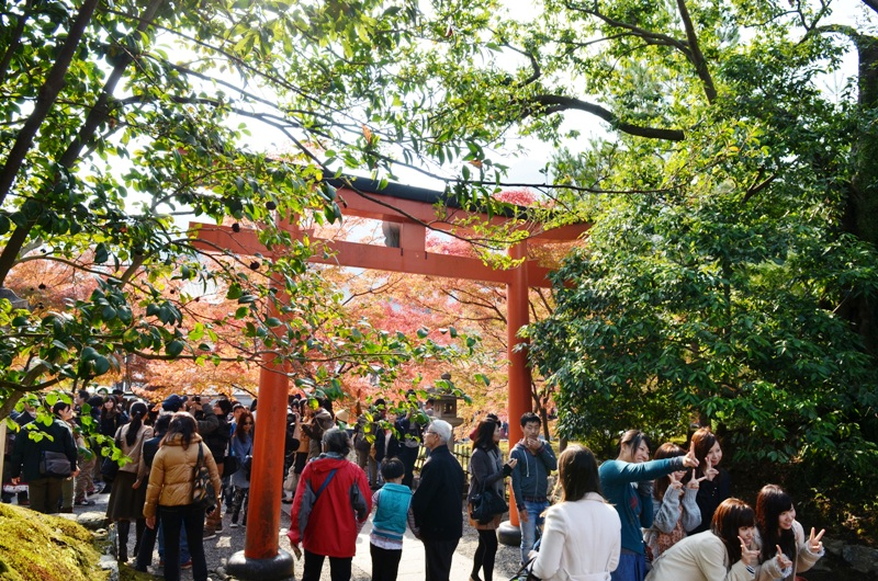 "Most Important Zen temples within Rinzai Shu sect ""Nanzenji Tempe(南禅寺) in Kyoto, One of the best place to enjoy Fall Foliage"