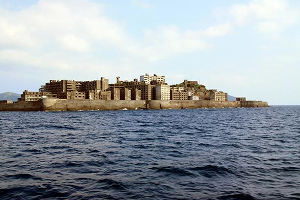 Japan's Battleship Island, as Made Famous by James Bond's Skyfall