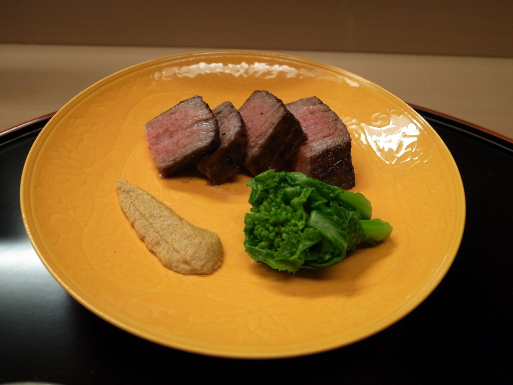 Beef Steak, Karaaji Daikon