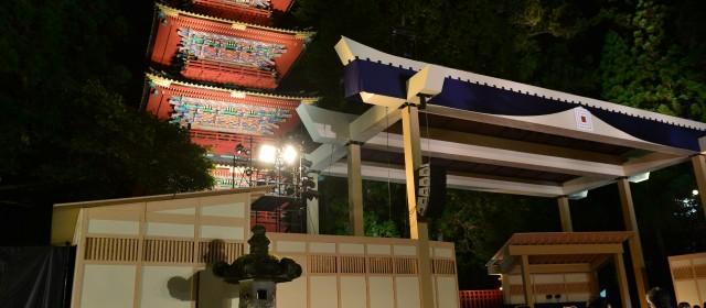 AN IMMORTAL KABUKI PERFORMANCE-World Heritage Theater by JTB Kabuki Performance by ICHIKAWA EBIZO at NIKKO TOSHOGU