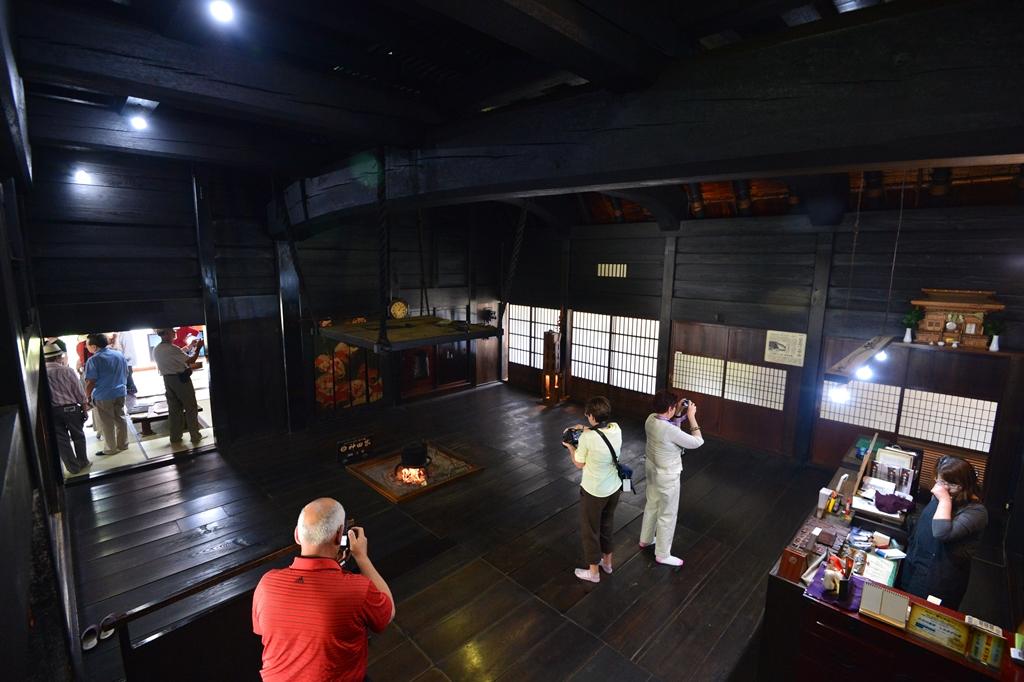 Shirakawago Gokashomura Village Gashozukuri House