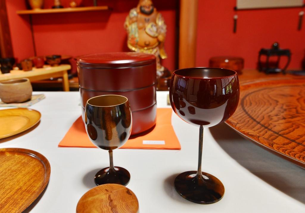Mr. Yasuhiro Satake's Wine Glass