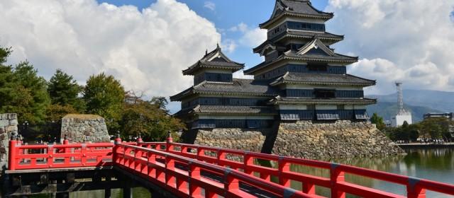 """Matsumoto Castle"" called Crow Castle is National Treasure of Japan"