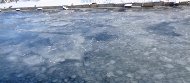"""""""Okhotsk Sea's Drift Ice,"""" A true Winter Masterpiece"""